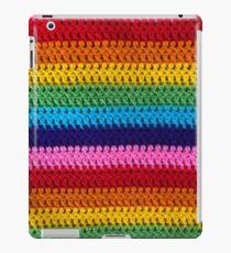 Rainbow Crochet  iPad Case/Skin