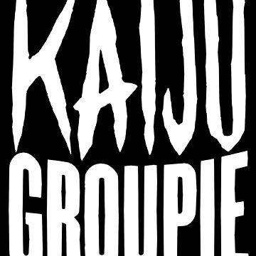 Kaiju Groupie T-shirt by AmyMor