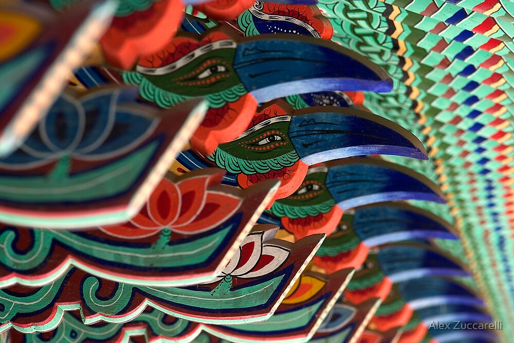 Avian Designs - Seongju Temple, South Korea by Alex Zuccarelli