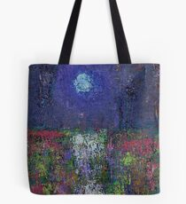 Marsh Glow original painting Tote Bag