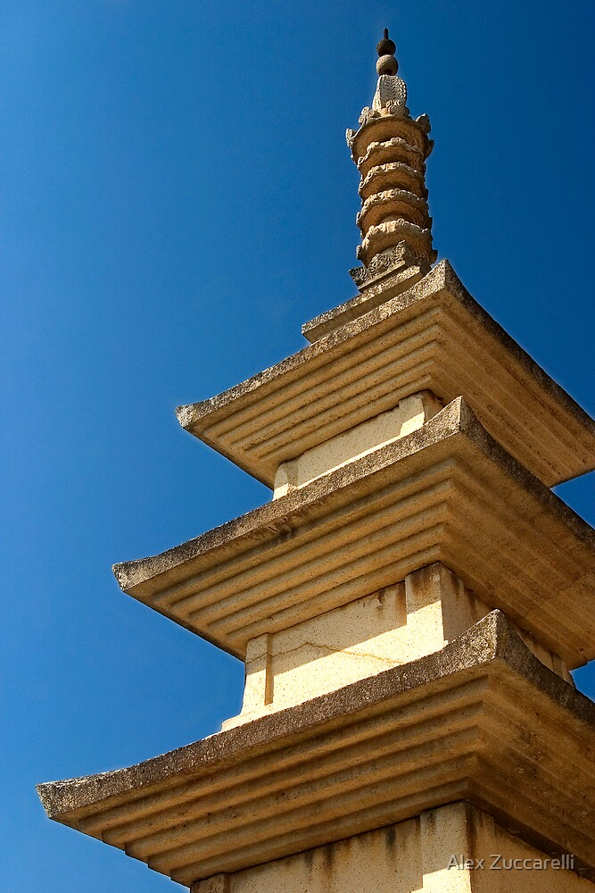 Seokgatap Pagoda - Bulgok Temple, South Korea by Alex Zuccarelli