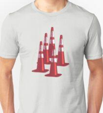 TRAFIC CONES PYLON Unisex T-Shirt