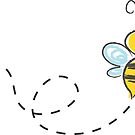 Bee Cartoon Bumble Adorable by lucykateburton