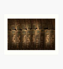 Tripitaka Koreana - Haein Temple, South Korea Art Print