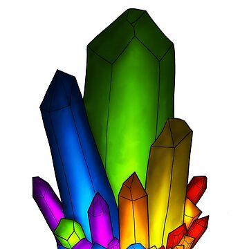 Rainbow crystal by Airship-Tinker