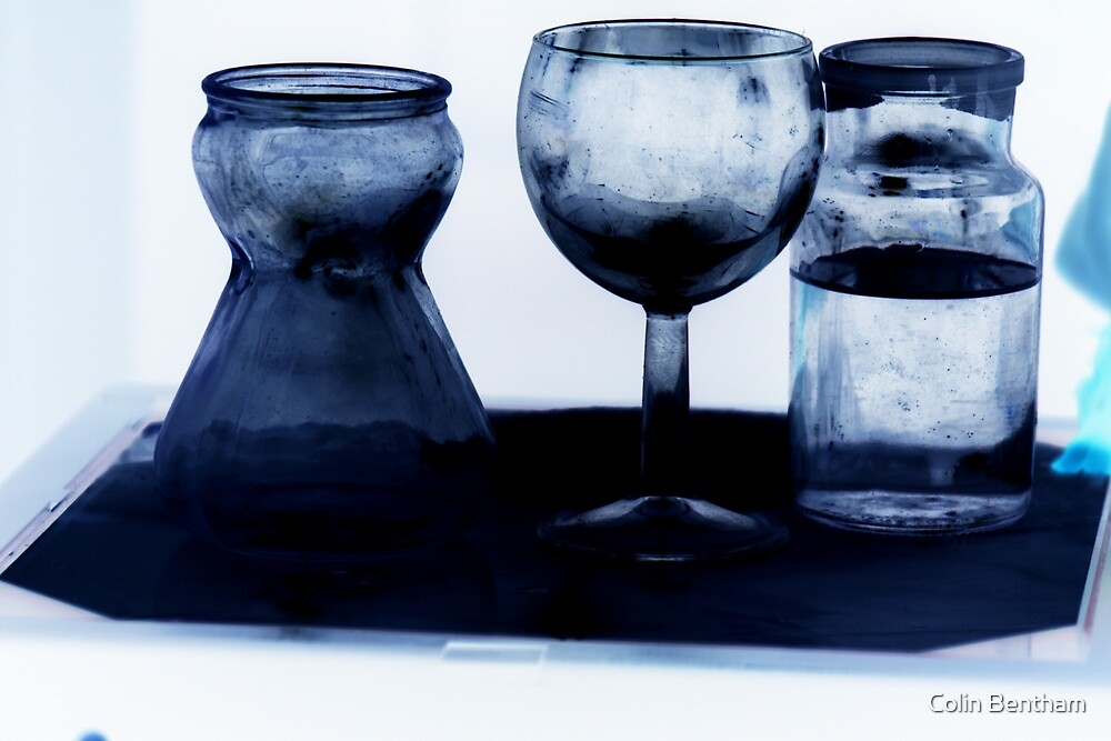 Glass in Blue by Colin Bentham