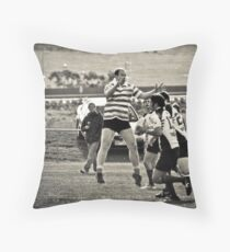 Interesting Defence! Throw Pillow