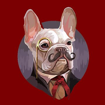 Frenchie Gentleman by unclestich