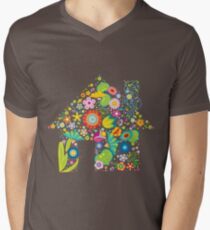 Floral colorful abstract  T-Shirt