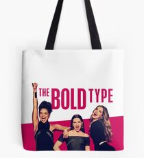 """The Bold Type """"Pink Bold"""" Design Tote Bag"""