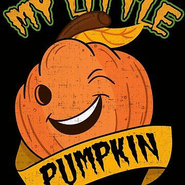 Funny Halloween Pumpkin Jack-o-Lantern Shirt And Stickers by Joeby26