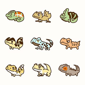 Lizards by rolito86