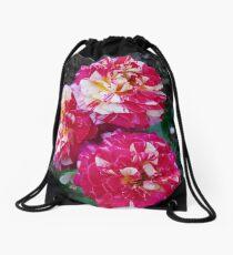 Three Carnations Drawstring Bag