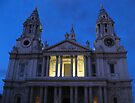 St. Paul's Cathedral (London) in the Evening by ValeriesGallery