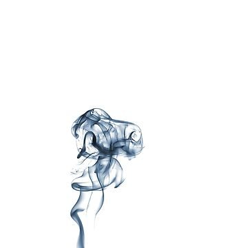 Gentle Blue Ethereal Smoke by oliver9523