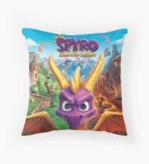 Spyro Reignited trilogy  Throw Pillow