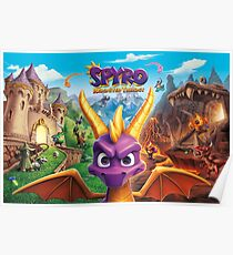 Spyro Reignited trilogy  Poster