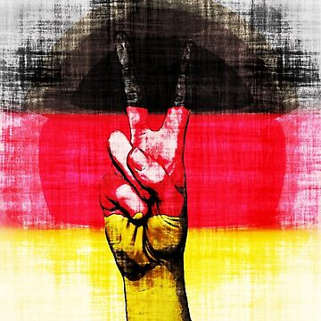 Germany Flag by Deestylistic