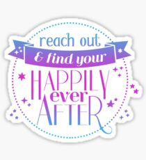 Find your happily ever after! Sticker