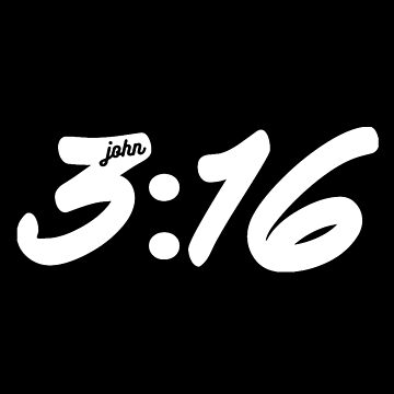 John 3:16 - Christian Design by JHWHDesign