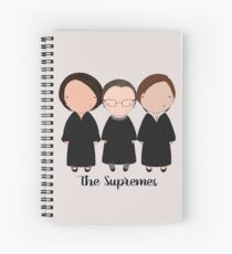 The Supremes 2016 Spiral Notebook