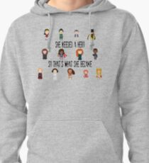 So that's what she became Pullover Hoodie