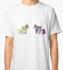 Doctor Whooves and Assistant meets Doctor Whooves Adventure Classic T-Shirt