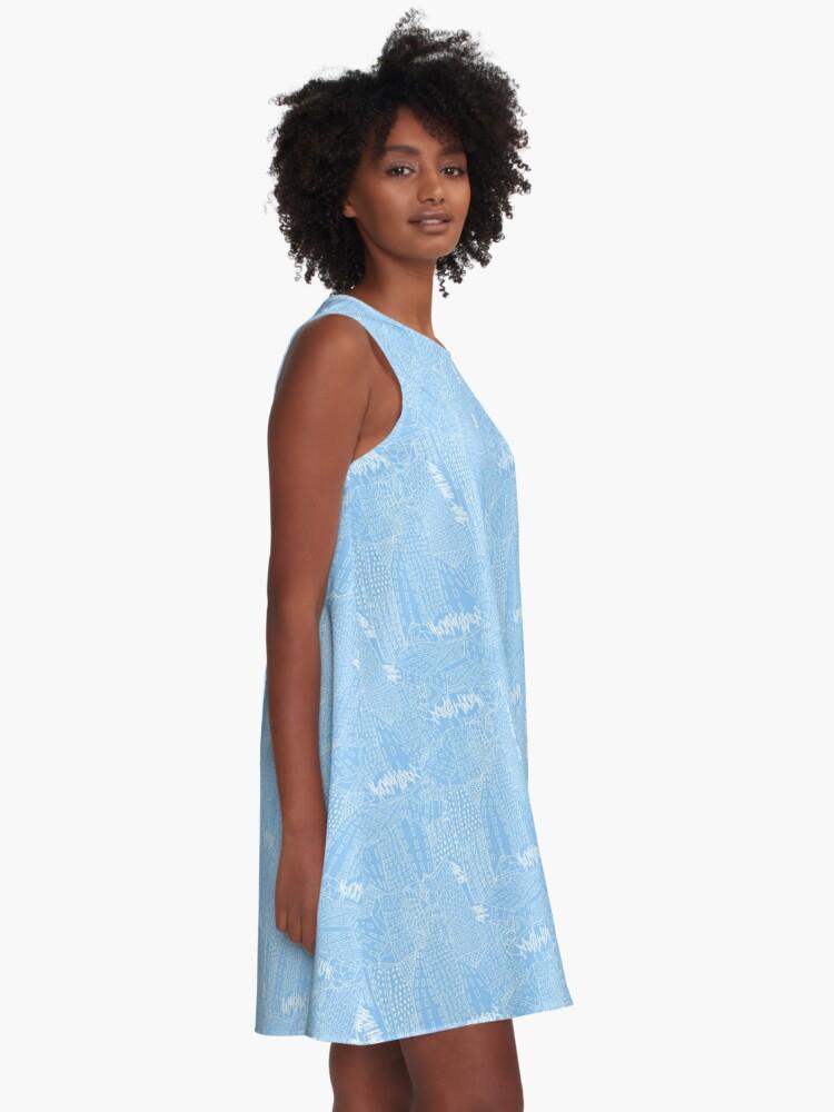 Alternative Ansicht von blue city A-Linien Kleid