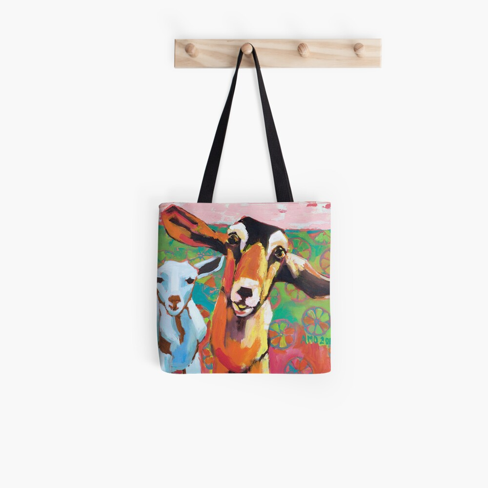 Goat Take-Off Tote Bag