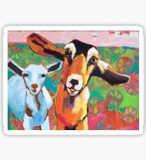 Goat Take-Off Sticker