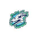 Green glowing Dracorex hogwartsia by David Orr