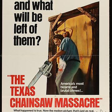 Texas Chainsaw Massacre Poster Image by bearsnightout