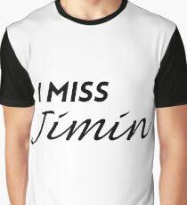 I MISS Jimin Graphic T-Shirt