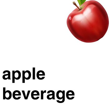 Apple Beverage by cstafford