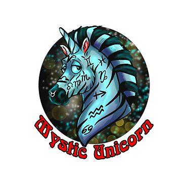 Mystic Unicorn by biomek