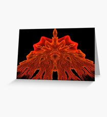 candle in the windage Greeting Card