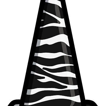 zebra cone by TswizzleEG