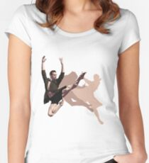Sergei Polunin Fitted Scoop T-Shirt
