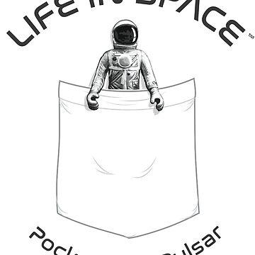 Life in Space Pocket Pals: Pulsar 2 by photonart