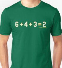 6+4+3+2: Oakland Unisex T-Shirt