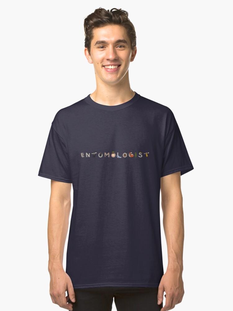 Alternate view of Entomologist  Classic T-Shirt