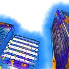 Abstract Towers by KirtTisdale