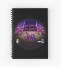 Octopus Opera Spiral Notebook