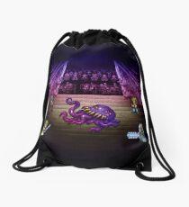 Octopus Opera Drawstring Bag
