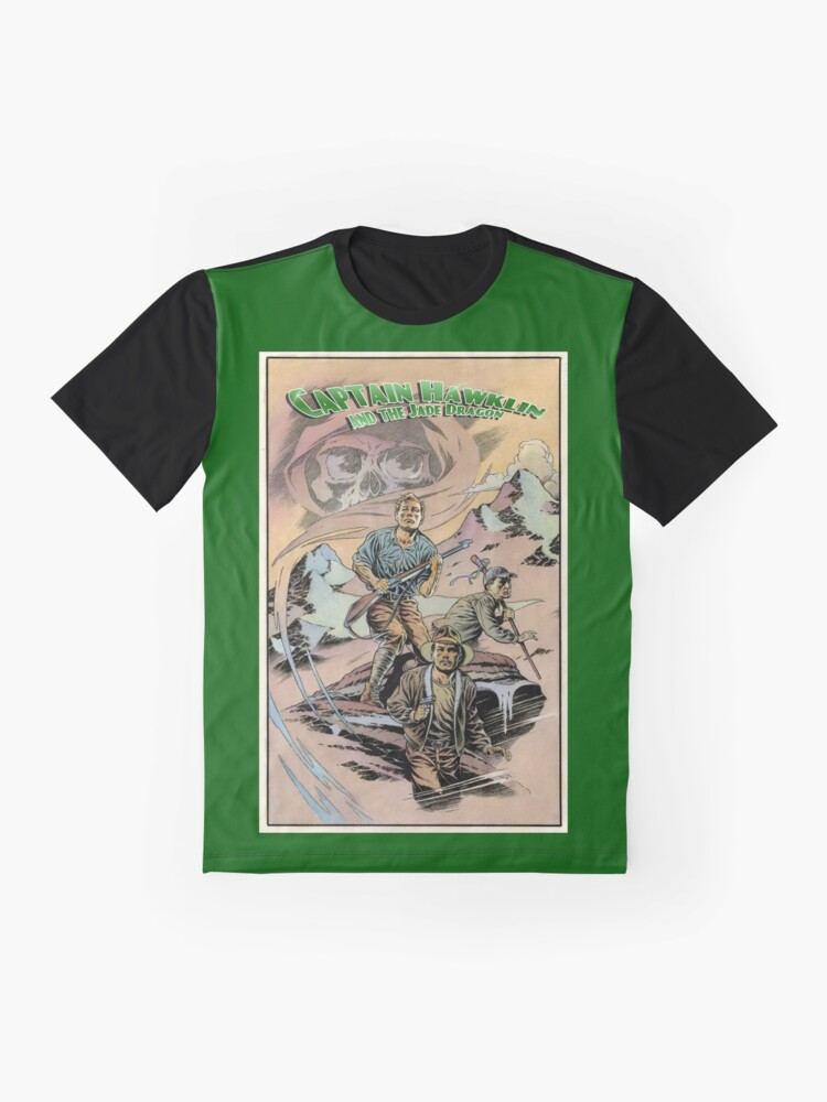 Alternate view of Captain Hawklin - Jade Dragon Graphic T-Shirt