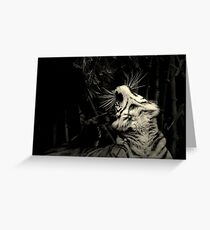 ~The Cat's Whiskers~ Greeting Card