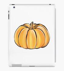 Nette Kürbis-Illustration mit Funkeln iPad-Hülle & Klebefolie