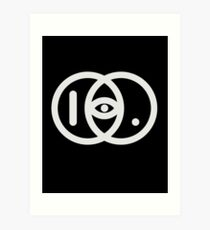 IDKHBTFM Logo Art Print