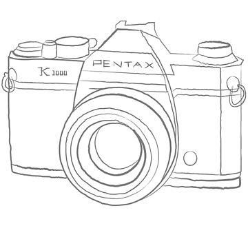 Pentax K1000 by mrsalbert