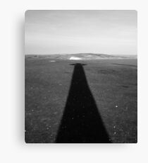 In The Shadow Of The Cross Canvas Print